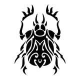 Bug vector tattoo Stock Photos
