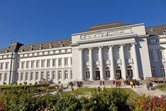 BUGA园艺展示的访客2011年在科布伦茨 免版税图库摄影