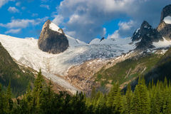 The Bugaboos, Britsh Columbia, Canada. Bugaboo Provincial Park in British Columbia, Canada Royalty Free Stock Photo
