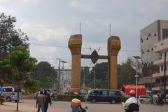 The Buganda monument in Kampala Stock Image
