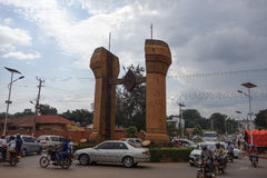 The Buganda monument in Kampala Stock Photo