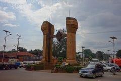 The Buganda monument in Kampala Stock Photography