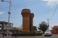 The Buganda monument in Kampala Royalty Free Stock Images