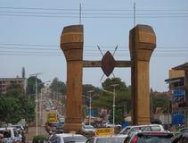 The Buganda monument in Kampala Royalty Free Stock Photo