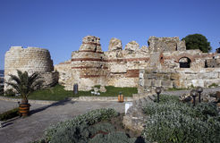 Bułgaria Nessebar Stary miasteczko Obraz Royalty Free