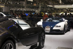 bugatti全部体育运动veyron 免版税图库摄影