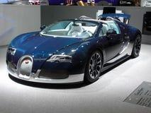 bugatti全部体育运动veyron 免版税库存照片