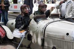 Bugatti在Mille Miglia的T 37 2013年 免版税库存图片
