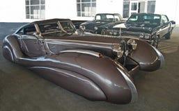 1937年Bugatti大西洋 免版税库存图片