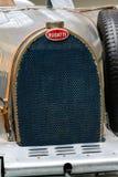 Bugatti类型51从1931个立场的首要的赛车在全国技术博物馆 免版税库存照片