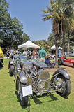 Bugatti赛车 免版税库存照片