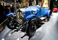 Bugatti类型57G坦克日内瓦2014年 免版税图库摄影