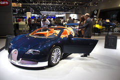 Bugatti Στοκ φωτογραφία με δικαίωμα ελεύθερης χρήσης