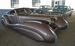 1937 Bugatti Atlantische Oceaan Royalty-vrije Stock Afbeelding