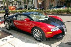 Bugatti auf Rodeo-Laufwerk lizenzfreie stockfotos