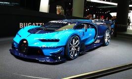 Bugatti. A blue Bugatti Royalty Free Stock Photo