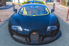 Bugatti Veyron EB 16.4 model. The Bugatti Veyron EB 16.4 model  shown outside Stock Photography