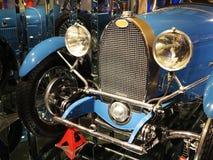 Bugatti Car. Old Bugatti sport car show in exhibition Stock Photo
