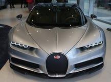 Bugatti Chiron Fotografia de Stock