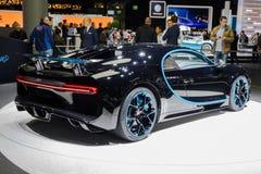 Bugatti Chiron de sportwagen van de 42 Secondenuitgave stock afbeelding