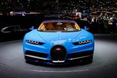 Bugatti Chiron in Geneva Stock Photo