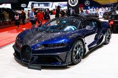 Bugatti Chiron Mansory stock foto