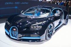 Bugatti Chiron 42 secondenuitgave Stock Foto's