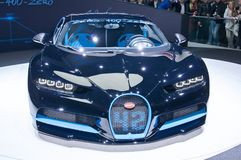 Bugatti Chiron 42 seconds edition Stock Images
