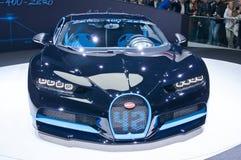 Bugatti Chiron 42-Sekunden-Ausgabe Stockbilder