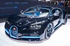 Bugatti Chiron 42-Sekunden-Ausgabe Stockfotos
