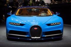 2016 Bugatti Chiron sportów samochód Obrazy Stock