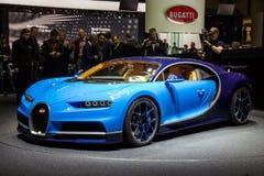 2016 Bugatti Chiron sportów samochód Fotografia Royalty Free
