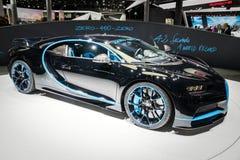 Bugatti Chiron voiture de sport 42 de secondes d'édition Photographie stock