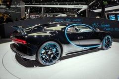 Bugatti Chiron voiture de sport 42 de secondes d'édition Photo libre de droits