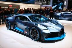 Bugatti Divo imágenes de archivo libres de regalías