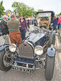 Bugatti and Ford cars at Grantown on Spey Stock Photos