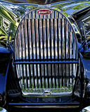 Bugatti Grill Royalty Free Stock Photo