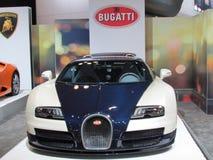 bugatti 2015 Internationale toont Auto van New York Royalty-vrije Stock Foto's
