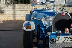 Bugatti. Old bugatti car in perfect working order Royalty Free Stock Image