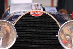 Bugatti old timer car grill Stock Photo