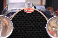 Bugatti old timer car grill Stock Photo