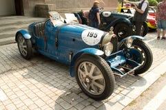 Bugatti 37 przy Vernasca srebra flaga 2017 Obrazy Royalty Free