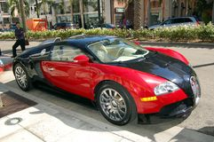 Bugatti on Rodeo Drive Royalty Free Stock Photos