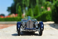 Bugatti 57 SC Corsica Roadster - front view Royalty Free Stock Photo