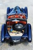 Bugatti 57 SC Corsica Roadster - open trunk Stock Images
