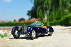 Bugatti 57 SC Corsica Roadster retro car Royalty Free Stock Photography