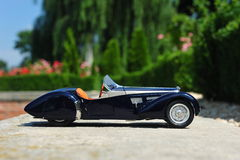 Bugatti 57 SC Corsica Roadster - side view Stock Photos