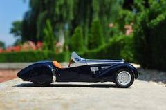 Bugatti 57 SC Corsica Roadster - side view Stock Photos