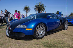 Bugatti Super Car. Cars and Coffee San Francisco is one of the largest monthly auto meetups in the San Francisco Bay Area. Exotics, Muscle Cars, Hypercars Stock Photo