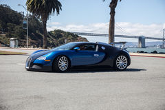 Bugatti Super Car Royalty Free Stock Photos